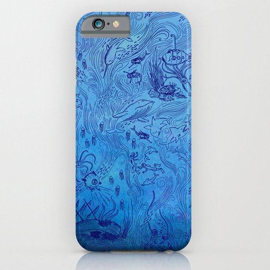 Le Grand Bleu iPhone & iPod Case