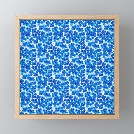 Forget-me-not Flowers White Background #decor #society6 #buyart Framed Mini Art Print