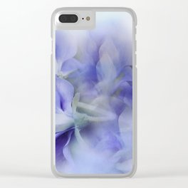 Sweet Peas Clear iPhone Case