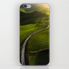 Above Tuscany iPhone Skin