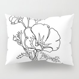California Poppy Pillow Sham
