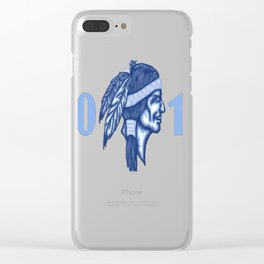 2017 Brave T-Shirt Clear iPhone Case