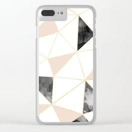 Millennial Tiles Clear iPhone Case