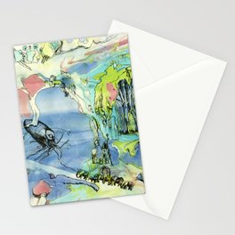 #60 The Elephant Train out of Cypress Stationery Cards