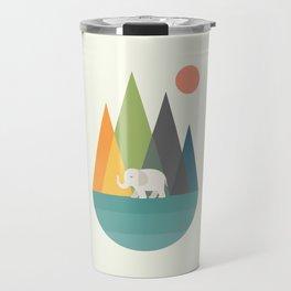 Walk In Peace Travel Mug