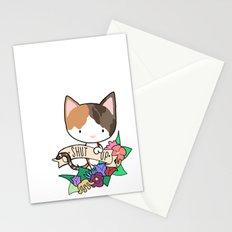 Calico Cat. SHUT UP! Stationery Cards