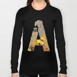 A as Archaeologist Long Sleeve T-shirt