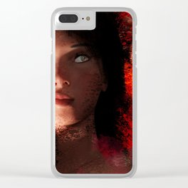 Female 6 Clear iPhone Case