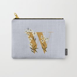 W for Wallflower Carry-All Pouch