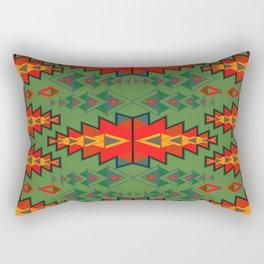 Indian Designs 252 Rectangular Pillow