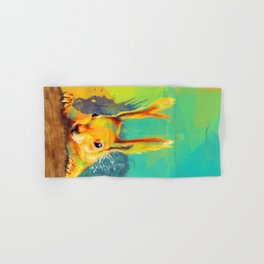 Tassel-eared Squirrel Hand & Bath Towel