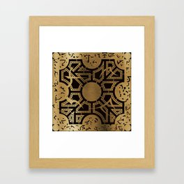 Lament Configuration Side D Framed Art Print