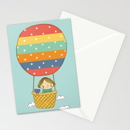 Flying away Stationery Cards