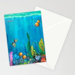 Undersea with Nautilus Stationery Cards