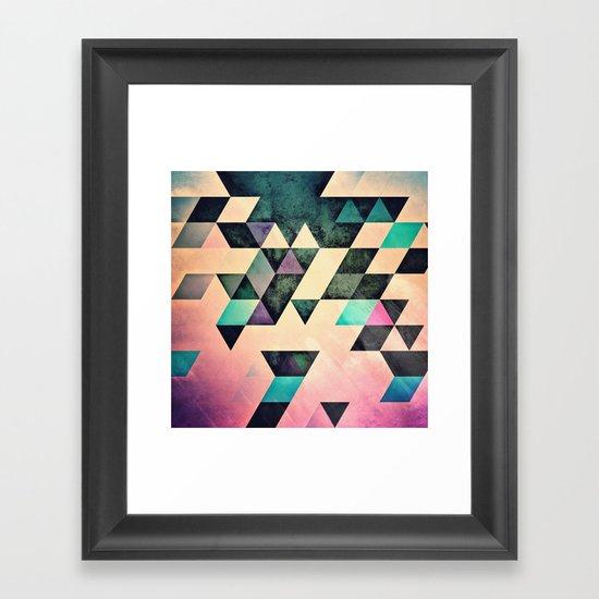 Xtyrrk Framed Art Print