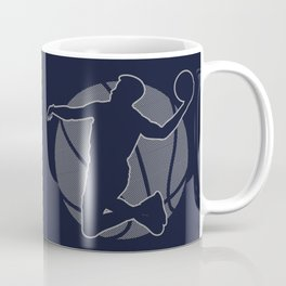 Basketball Player II (monochrome) Coffee Mug