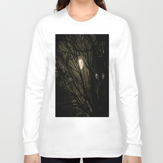 It's a full moon, so what? Long Sleeve T-shirt