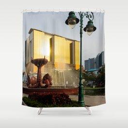 Naga Fountain Shower Curtain