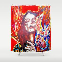 Phoenix rise Shower Curtain