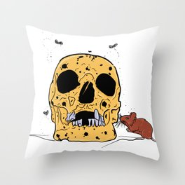 Decay for Days Throw Pillow