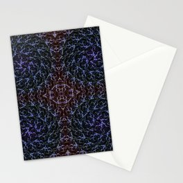 Ascension Convergence Pattern Stationery Cards