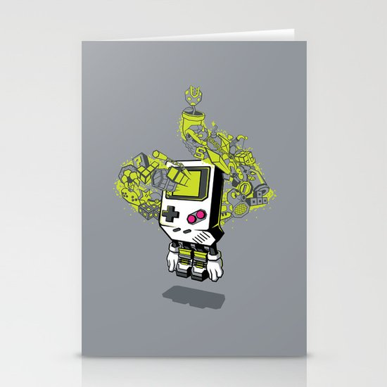 Pixel Dreams Stationery Cards