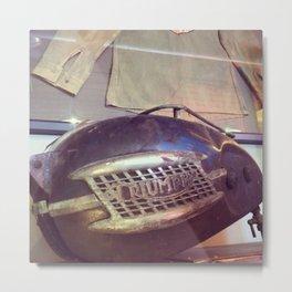 Vintage Triumph Tank Metal Print