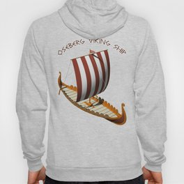 Oseberg Viking Ship Hoody