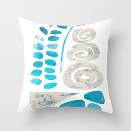 """Terrarium, """"And Then I Created My Own World"""" Throw Pillow"""