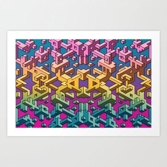 Square Necessities Art Print