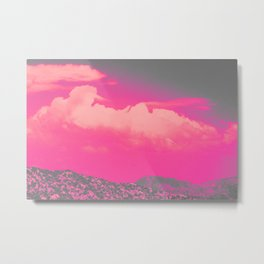 We gazed the beauty of teenage dreams vaporizing into uncertainty. Metal Print