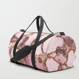 GEMSTONE AND GOLD BLUSH ROSE Duffle Bag