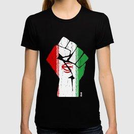 Team Iran Flag Tshirt T-shirt