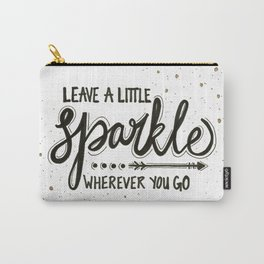 Leave A Little Sparkle Wherever You Go Carry-All Pouch