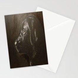 Classic Black Labrador Stationery Cards