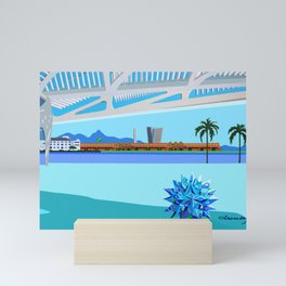 MUSEUM OF TOMORROW IN RIO DE JANEIRO Mini Art Print