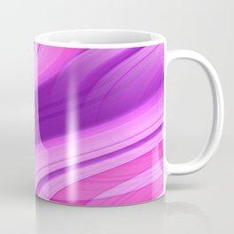 Pink and Purple Asymmetry 1 Coffee Mug