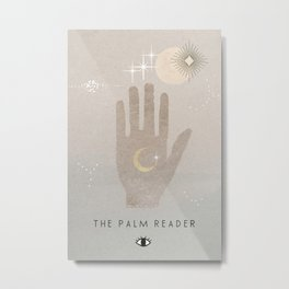 The Palm Reader Metal Print