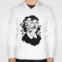 agnes Hoodies featuring Europa, Agnes and Phyllis by Anna Lisa Illustration