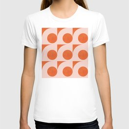 Abstraction_Circles_Pattern_Minimalism_001 T-shirt