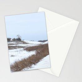 Beautiful Winter Scenery Stationery Cards