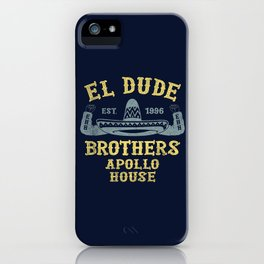 The Peep Show - El Dude Brothers iPhone Case