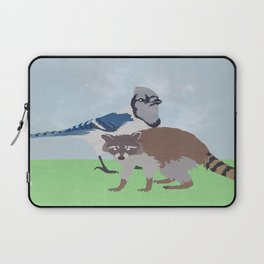 Mordecai and Rigby Laptop Sleeve
