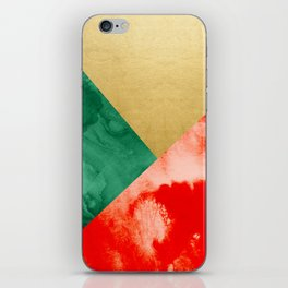Holiday Spirit #society6 #buyart #decor iPhone Skin