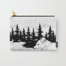 Arctic Animals - Arctic Tundra Carry-All Pouch
