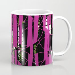 Wired Pink and Green from my Fall Collection Coffee Mug