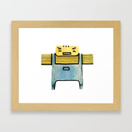 Cigi Pal Framed Art Print