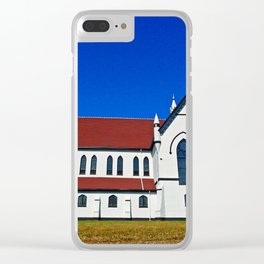 St. Mary's Church side view Clear iPhone Case