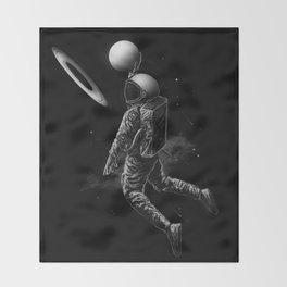 Saturn Dunk Throw Blanket
