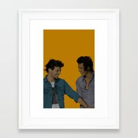 larry stylinson Framed Art Prints featuring Pop Art Larry Stylinson 2 by JodiYoung
